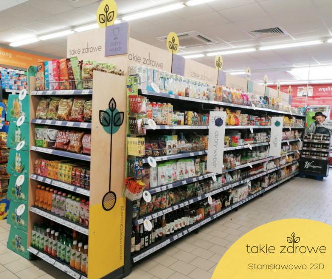 Supermarket Rodzinny w Stanisławowie ze strefą Takie Zdrowe!