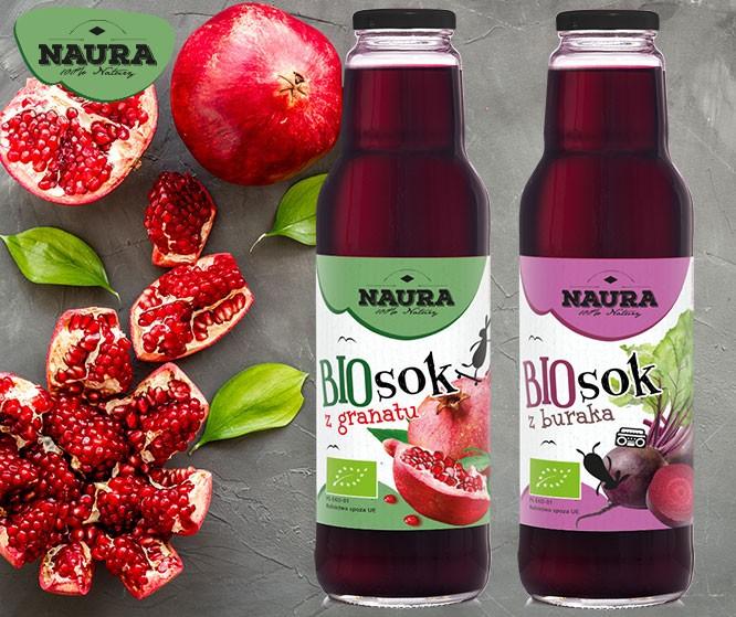 BIO soki NAURY – naturalne wzmocnienie organizmu